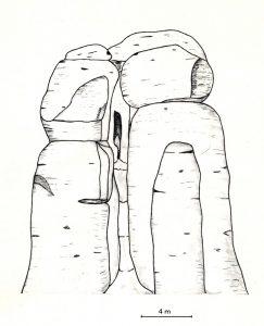 Santuario Pre-histórico de La Pola. La aguja y la cueva, símbolos de la Fecundidad